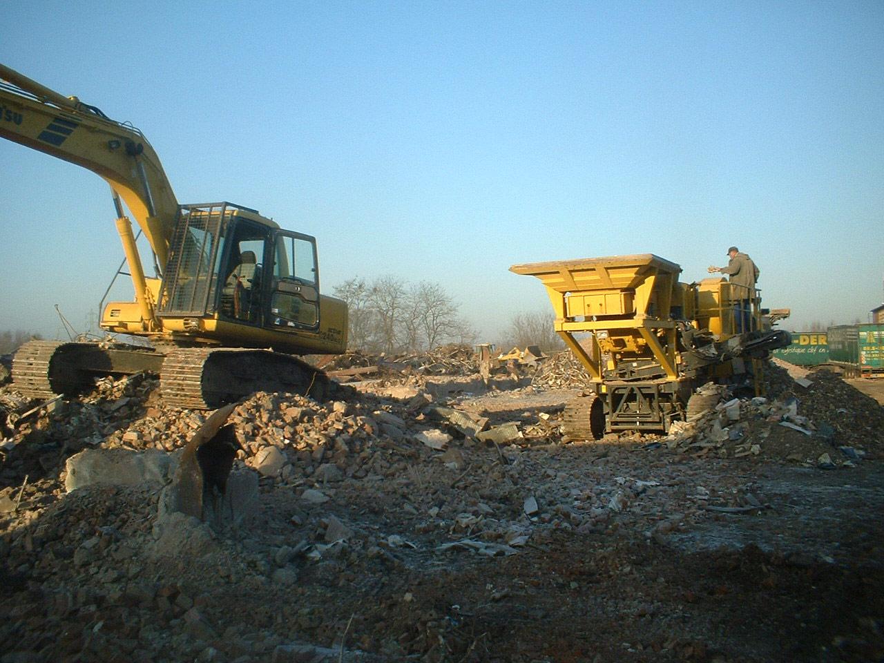 Démolition chantier Grande Paroisse