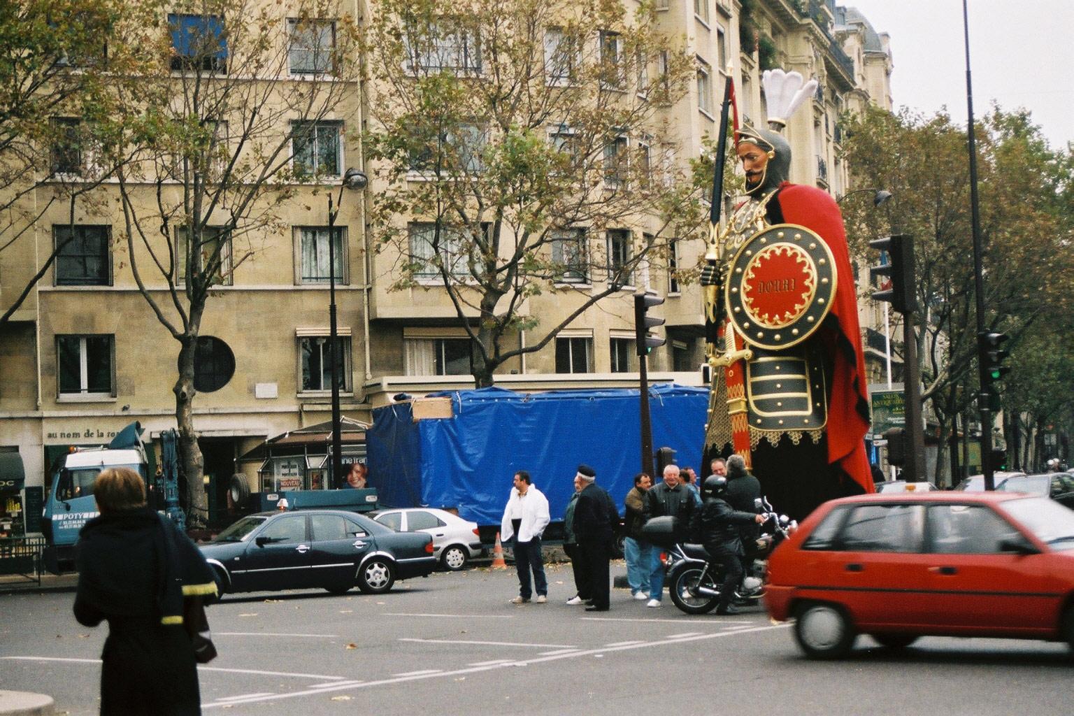 Transport de Monsieur Gayant